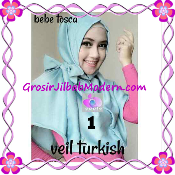 Jilbab Instant Cantik Exclusive Veil Turqish by Apple Hijab Brand No 1 Baby Tosca