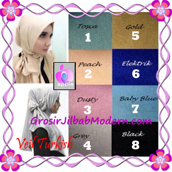 Jilbab Instant Cantik Exclusive Veil Turqish by Apple Hijab Brand Series