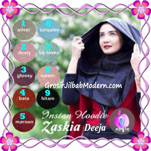 Jilbab Instant Hoodie Zaskia Deeja by Apple Hijab Brand
