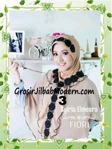 Jilbab Jumbo Modern Modis Elmeera Original By Fiori Design No 3 Cream