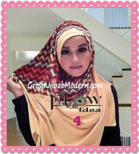 Jilbab Pashmina Instan Modern Zigzagy By Flow Idea No 4 Kuning