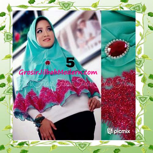 Jilbab Syria Pet Faresha Original by Fiori Design No 5