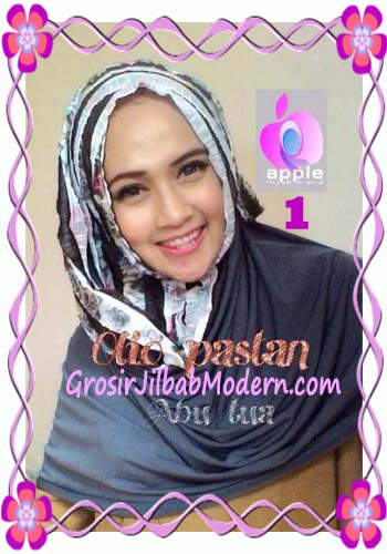 Pashmina Instant Modern Olio Original by Apple Hijab Brand No 1 Abu Tua