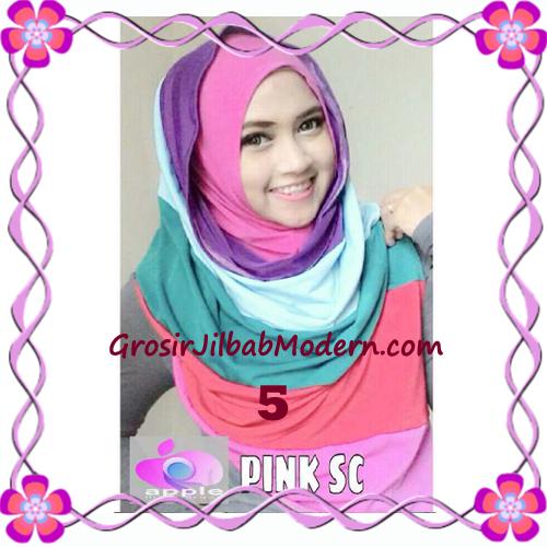 Pashmina Instant Rainbow Modis by Apple Hijab Brand No 5 Fanta