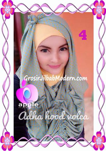 Jilbab Instant Modis Adha Hoodie Volca by Apple Hijab Brand No 4