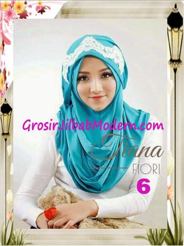 Jilbab Instant Unik Tiana Original by Fiori Design No 6 Tosca