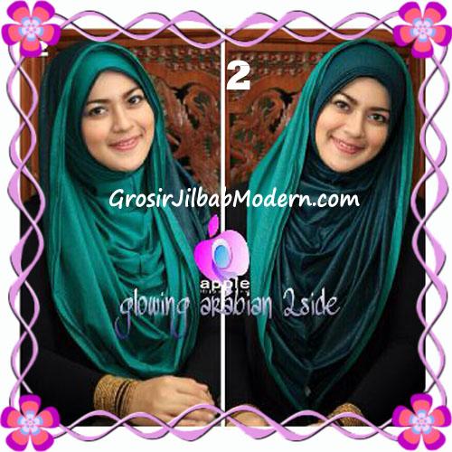 Jilbab Modern Instant Glowing Arabian 2 Side Hoodie by Apple Hijab Brand No 2