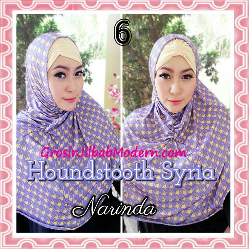 Jilbab Syria Instan 4 Gaya Terbaru Houndstooth By Narinda No 6