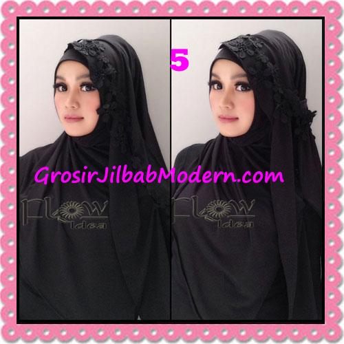 Jilbab Syria Instant Modern Safiya By Flow Idea No 5 Hitam
