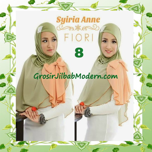 Jilbab Syria Modis Anne by Fiori Design No 8