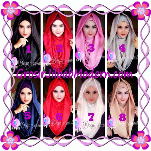 Jilbab Instant Terbaru Deeja Cavali Hoodie Exclusive Original by Apple Hijab Brand Series
