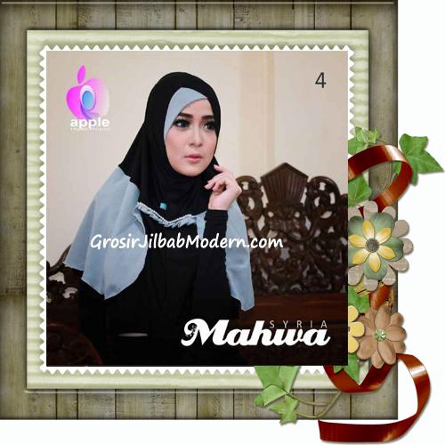 Jilbab Instant Terbaru Syria Mahwa Elegan by Apple Hijab Brand No 4