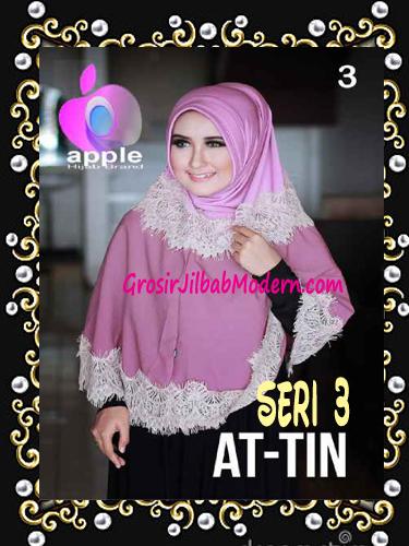 Jilbab Syar'i Exclusive  At Tin  Seri 3 by Apple Hijab Brand No 3
