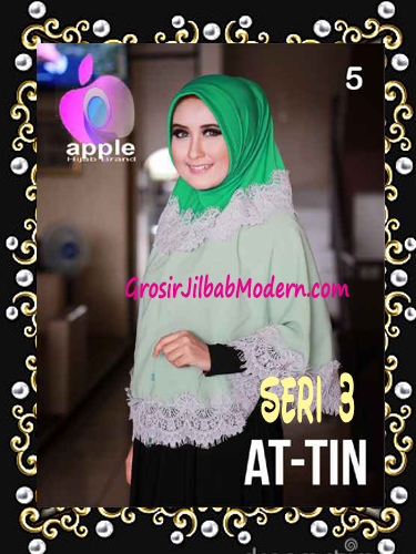 Jilbab Syar'i Exclusive  At Tin  Seri 3 by Apple Hijab Brand No 5