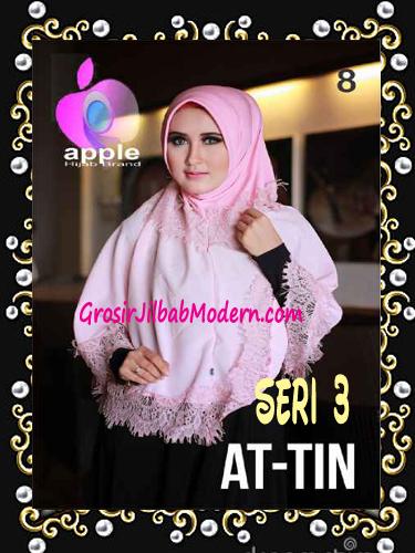 Jilbab Syar'i Exclusive  At Tin  Seri 3 by Apple Hijab Brand No 8