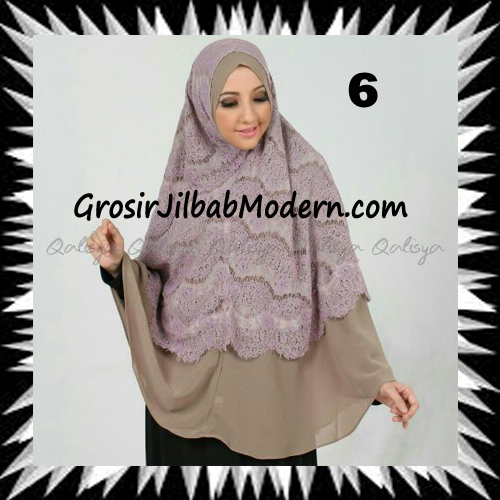 Khimar Exclusive Syar'i Damia Seri 2 Original by Qalisya No 6