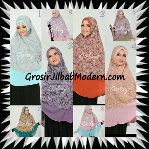 Khimar Exclusive Syar'i Damia Seri 2 Original by Qalisya Series