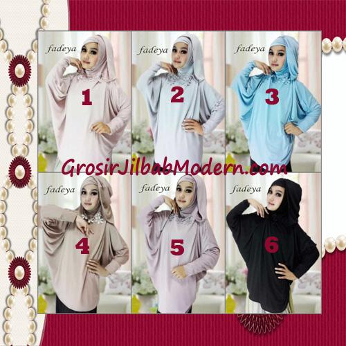 Jilbab Instant Blus Hoodie Cantik Terbaru de Kanaya Original by Fadeya