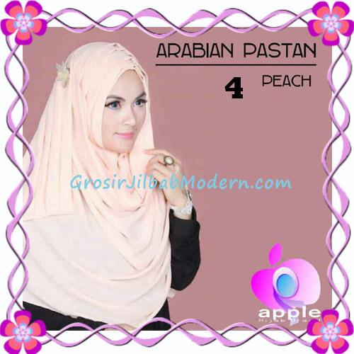 Jilbab Instant Modern Arabian Pastan Original by Apple Hijab Brand No 4 Peach