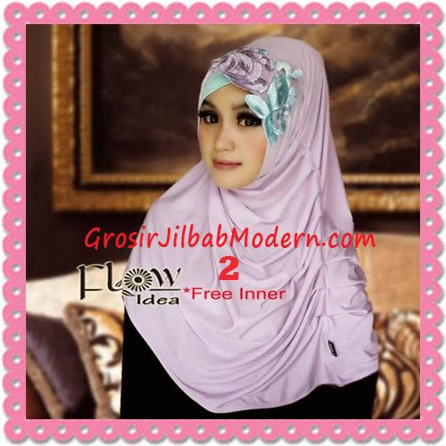 Jilbab Syria Modis Queenova Cantik Original by Flow Idea No 2 Ungu