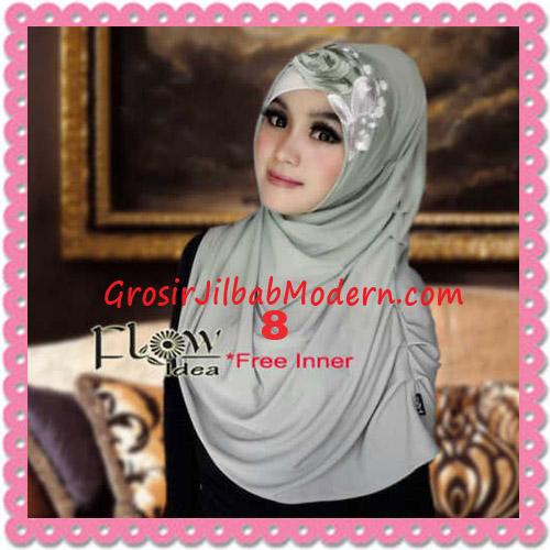 Jilbab Syria Modis Queenova Cantik Original by Flow Idea No 8 Hijau