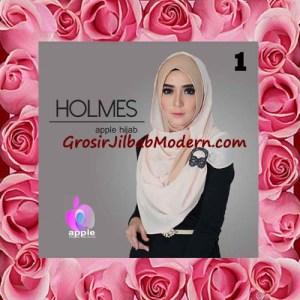 Jilbab Syria Pashmina Instant Modis Terbaru Holmes by Apple Hijab Brand No 1 Khaki