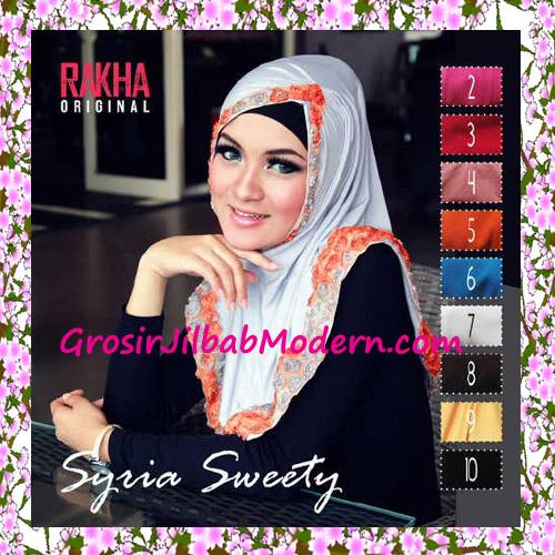 Jilbab Syria Sweety Cantik Original by Rakha Series