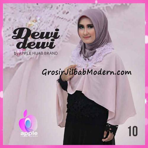 Jilbab Syria Syar'i Dewi Dewi Trendy Original by Apple Hijab Brand No 10