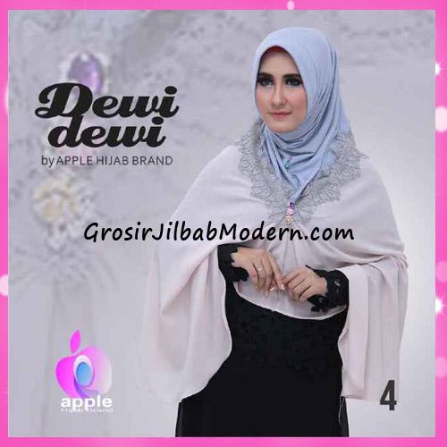 Jilbab Syria Syar'i Dewi Dewi Trendy Original by Apple Hijab Brand No 4