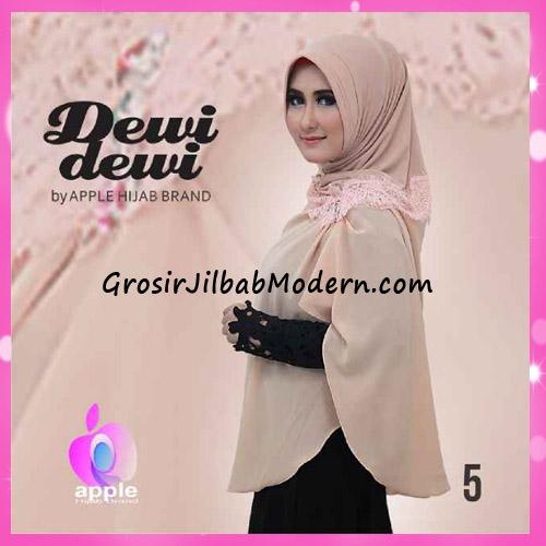 Jilbab Syria Syar'i Dewi Dewi Trendy Original by Apple Hijab Brand No 5