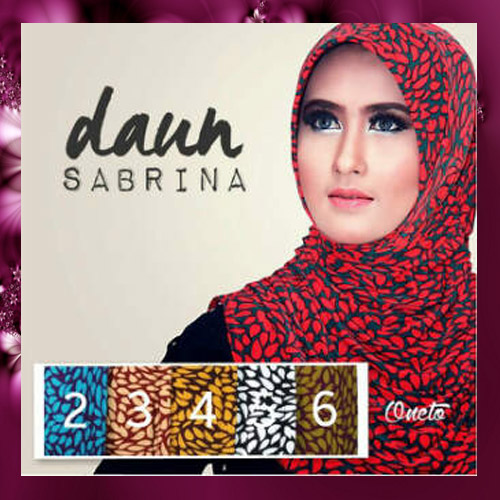 Jilbab Harian Trendy Sabrina Daun