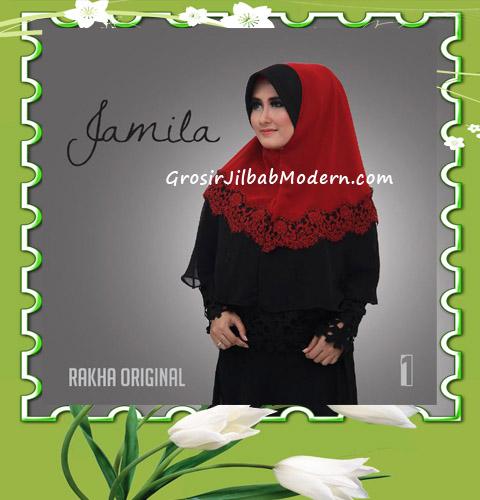 Jilbab Instan Terbaru Bergo Pet Jamila by Rakha No 1