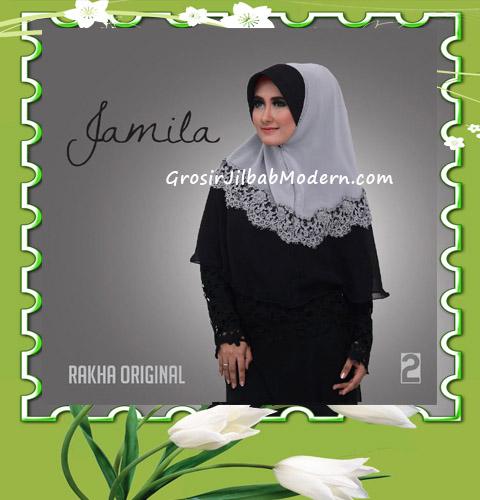 Jilbab Instan Terbaru Bergo Pet Jamila by Rakha No 2