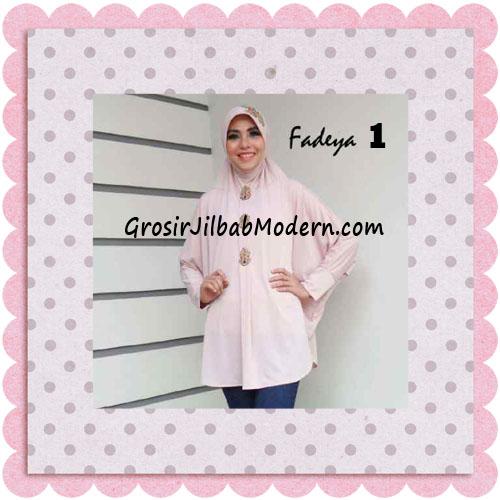 Jilbab Instant Lengan Bergo Inindia Simple Original Fadeya Brand No 1 Baby Pink