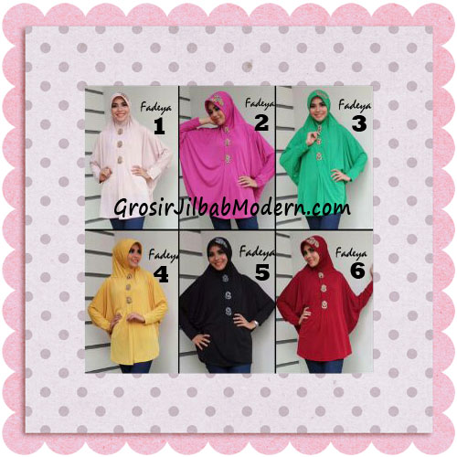 Jilbab Instant Lengan Bergo Inindia Simple Original Fadeya Brand Series
