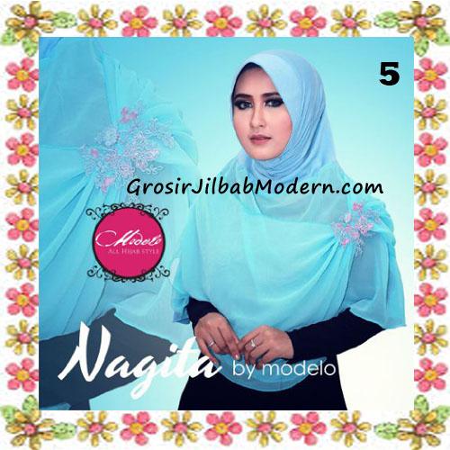 Jilbab Instant Terbaru Modis Nagita Original By Modelo No 5