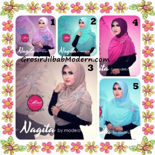 Jilbab Instant Terbaru Modis Nagita Original By Modelo Series