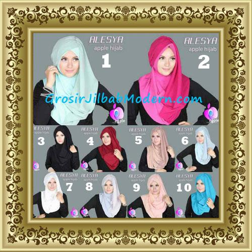 Jilbab Pashmina Instant Alesya Hana Premium by Apple Hijab Brand Series