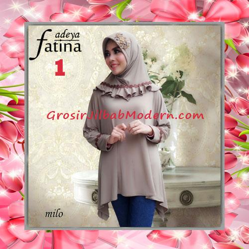 Jilbab Bergo Lengan Fatina Modis dan Cantik Original by Fadeya No 1 Milo
