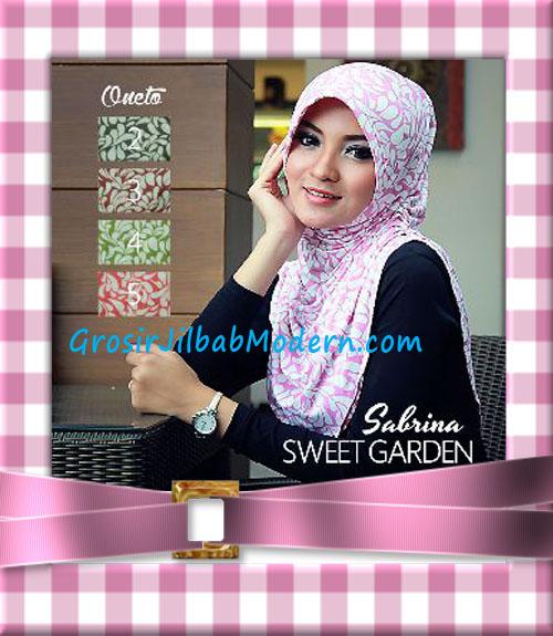 Jilbab Instant Harian Modis Sabrina Sweet Garden