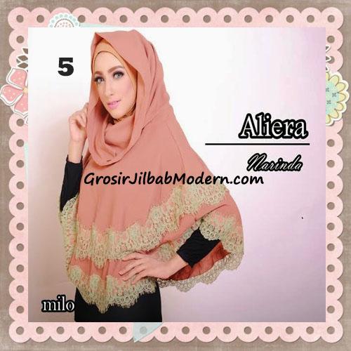 Jilbab Instant Modis Cantik Aliera Hoodie by Narinda No 5 Milo