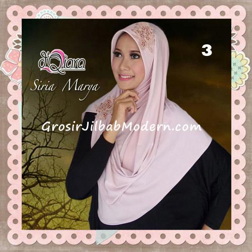Jilbab Instant Modis Syria Marya Cantik Original By d'Qiara Brand No 3
