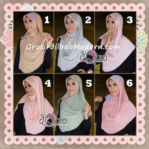 Jilbab Instant Modis Syria Marya Cantik Original By d'Qiara Brand Series