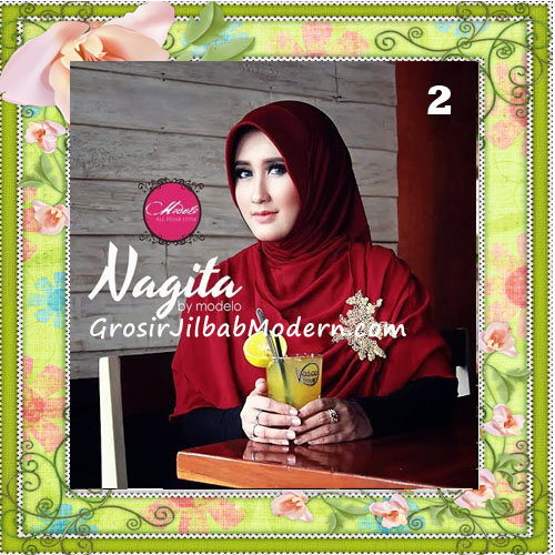 Jilbab Instant Terbaru Modis Nagita Seri 2 Original by Modelo No 2