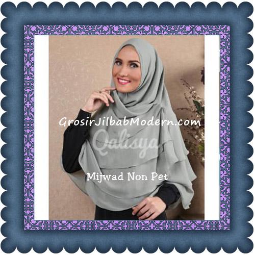 Jilbab Khimar Cantik Mijwad Tanpa Pet Seri 1 Original By Qalisya