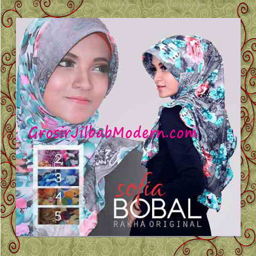 Jilbab Motif Bolak Balik Sofia Bobal Original By Rakha