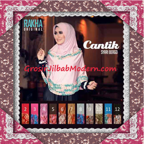 Jilbab Syar'i Modis Bergo Cantik Original by Rakha Series