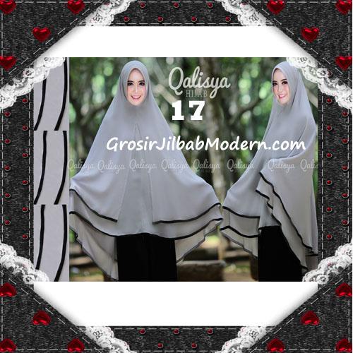 Jilbab Cerutti Jumbo Khimar Syar'i Taqiya Terbaru Original By Qalisya No 17
