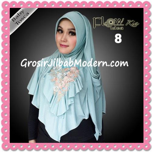 Jilbab Instant Cantik Syria Kia Original Flow Idea No 8 Baby Tosca