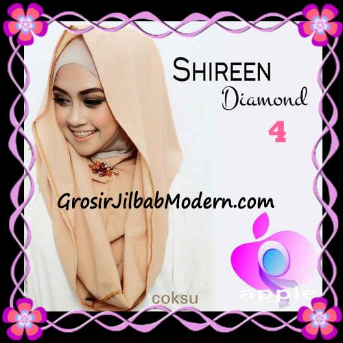 Jilbab Instant Terbaru Hoodie Shireen Diamond Seri 2 Original by Apple Hijab Brand No 4 Coksu